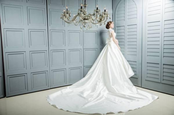 手工白紗訂製與婚紗禮服訂作