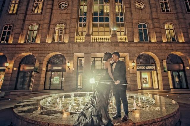 台北夜拍婚紗-婚攝Hawk