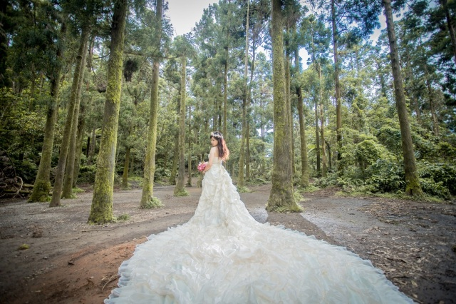 森林系女神婚紗攝影-台北婚攝Hawk浩克