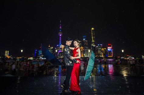 上海婚纱摄影-东方明珠